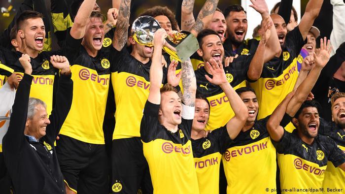 supercup celebration