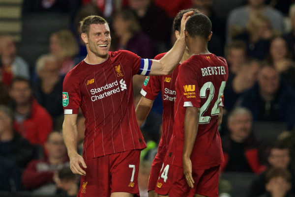 Football - Football League Cup 3rd Round - MK Dons FC v Liverpool FC